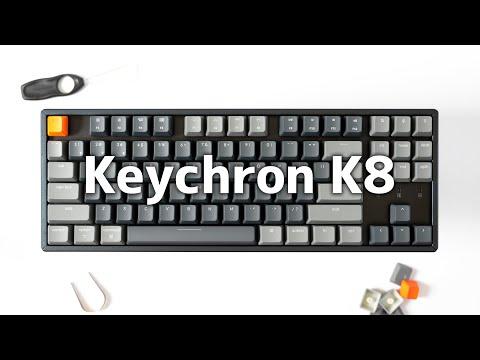 Keychron K8が届いた!Win・Mac両対応でコスパ最高のテンキーレスメカニカルキーボード