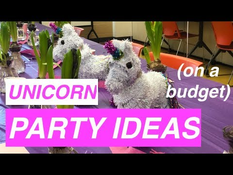 5 UNICORN BIRTHDAY Ideas on a Budget - Tips for Kids Theme Parties (minimalist friendly!)