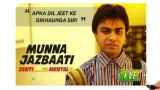 tvf jeetu the qtiyapa guy   story of a common man   how he became a youtube star
