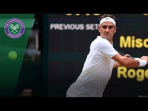 Roger Federer v Mischa Zverev highlights - Wimbledon 2017 third round