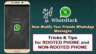 How To Edit WhatsApp Chat History|WhatsApp Message Edit Aur Change Kaise Kare |Root or Without Root