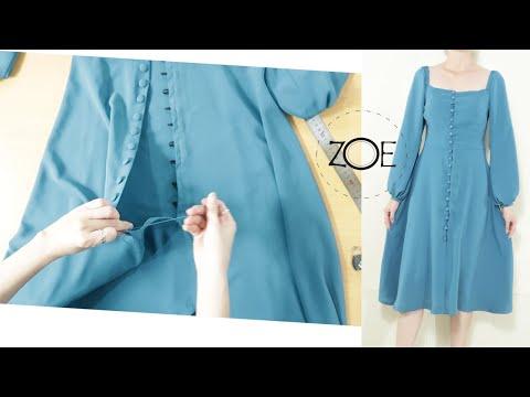 DIY Sewing Vintage 1970s Dress   FREE Sewing Patterns   Zoe DIY
