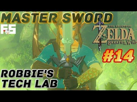 Master Sword & Robbie : Zelda Breath of the Wild Walkthrough Part 14 (Switch Gameplay) No Commentary
