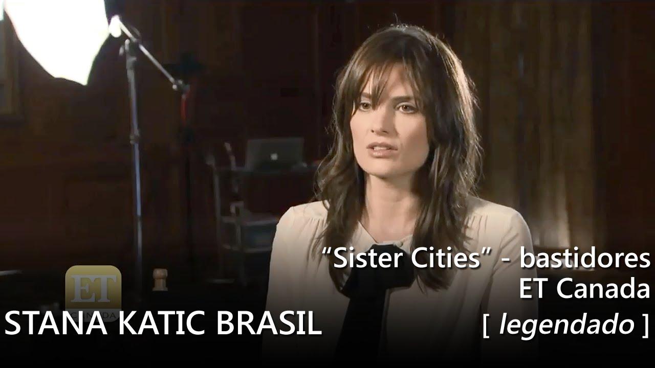 ET Canada: Stana Katic, Michelle Trachtenberg falam de Kaia Gerber (legendado) [HD] - YouTube