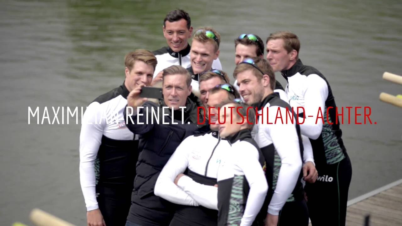 Maximilian Reinelt: Maximilian Reinelt, DeutschlandAchter