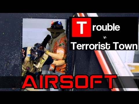 AIRSOFT TTT - Trapped in the Closet