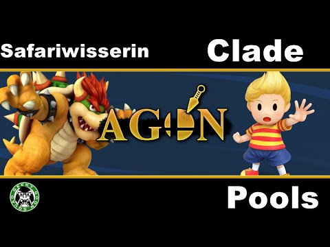 AGON - Safariwisserin (Bowser) Vs. Clade (Lucas) - Pools - Smash 4