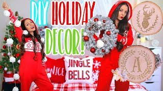 5 DIY HOLIDAY DECOR IDEAS YOU'VE NEVER SEEN BEFORE! Easy Christmas Decorations! 2017