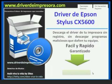 driver da impressora epson cx5600 para windows 7