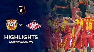 Highlights Arsenal vs Spartak (3-0)