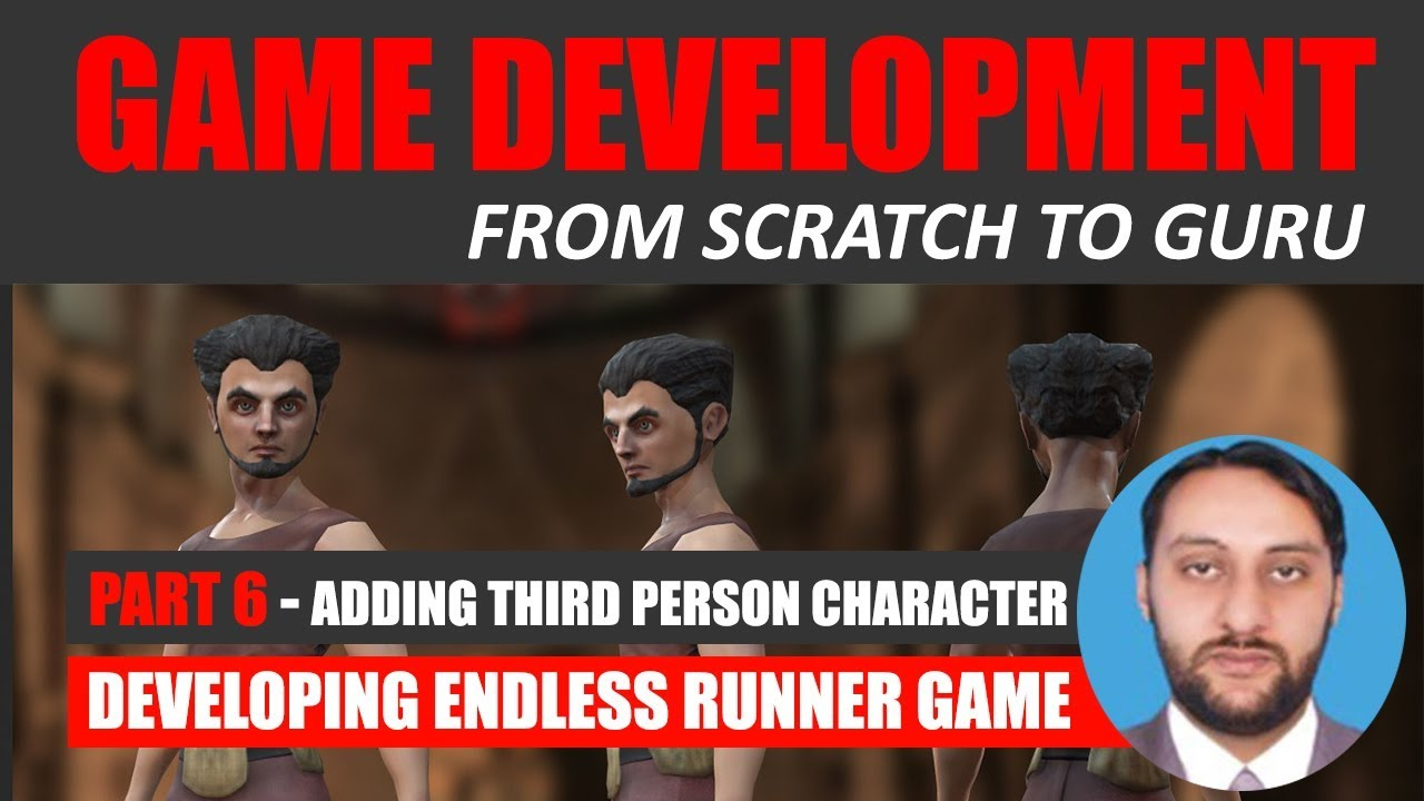 Part 06 - Adding Third Person Character Jumpoo | Game Development From Scratch To Guru
