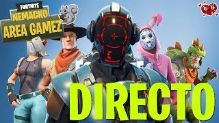 DIRECT #124 // PLAYING WITH THE NEW SKIN TAQUILLAZO IN FORTNITE BATTLE ROYALE CHILE