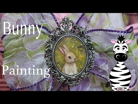 3D Easter Bunny Pendant Acrylic Nail Art Tutorial | Madam Glam thumbnail