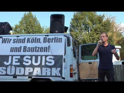 SÜDPARK Halle an der Saale Demo am 18.09.2016 gegen die Verslumung