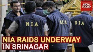 DSP Davinder Singh Case: NIA Conducts Raids In Some Parts Of Srinagar