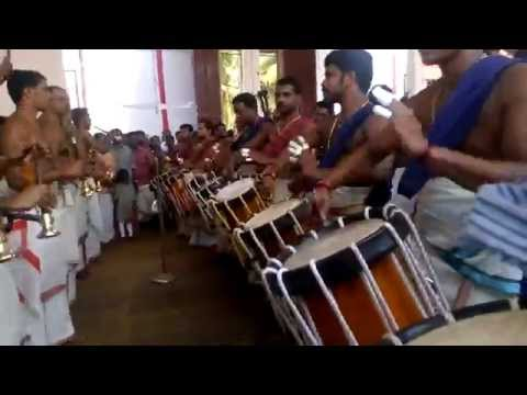 Chenda Panchari Melam 5th Kalam by Kidangoor Rajesh and Party at Kidangoor Subrahmanya Temple