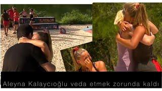 Aleyna Kalaycıoğlu  annesi istedi diye survivor hayatına veda ediyor  - annem kırmızı çizgimdir ..