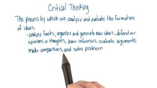 demonstrate the role of critical and creative thinking in enhancing quality education When using critical thinking, individuals step back and reflect on the quality of that thinking simpson and courtneay point out that critical thinking processes require active argumentation, initiative, reasoning, envisioning and analyzing complex alternatives, and making contingency-related value judgment 12.
