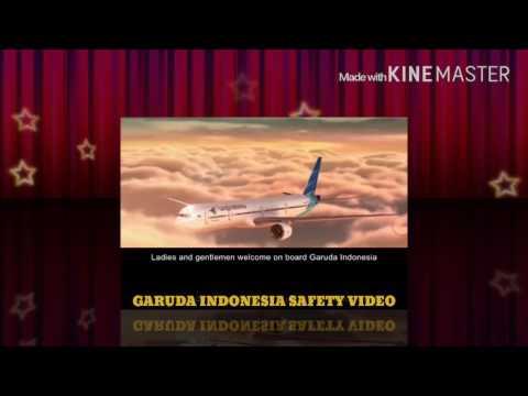 Garuda indonesia safety video