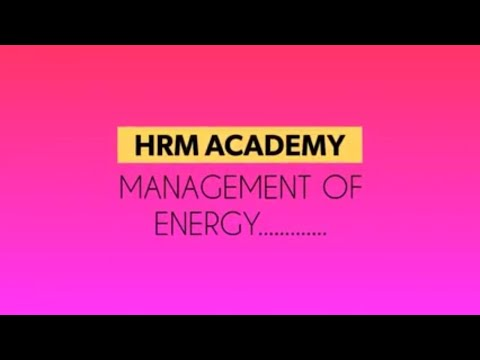 MANAGEMENT OF ENERGY |Home Management|শক্তির পরিচালনা