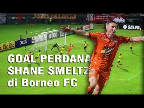 Goal Perdana Shane Smeltz, Borneo FC - Persegres Gresik United