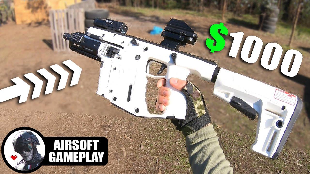 Los REVIENTO con VECTOR de $1000❗️ 😱 ▬ Airsoft Gameplay