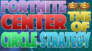Fortnite - VISIT THE CENTER OF DIFFERENT CIRCLES 3 TIMES IN A SINGLE MATCH - BEST WAY/STRATEGY!