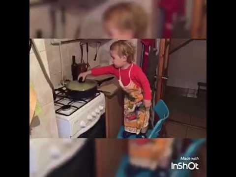 Как Серёжа печек пирожки!