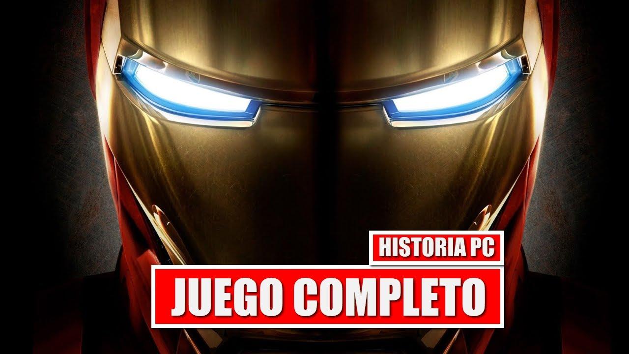 Iron Man 2008 Juego Completo En Espanol Historia Completa Version De Pc Youtube