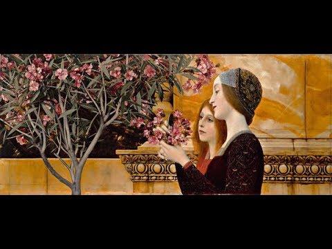 Gustav Klimt (1862 - 1918) Austrian artist ✽ Ludwig van Beethoven - Melody of Love