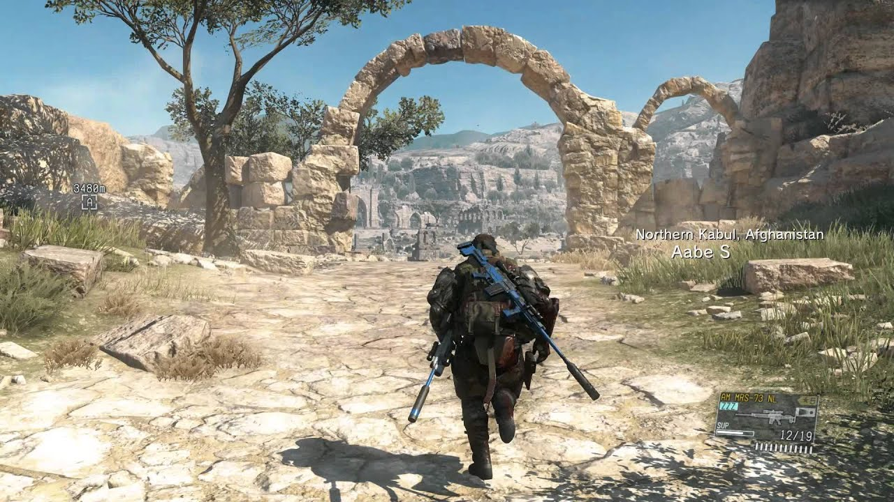 Metal Gear Solid 5 Map HOW BIG IS THE MAP in Metal Gear Solid V: The Phantom Pain? Run