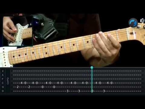 Blink 182 - Adam's Song (como tocar - aula de guitarra)