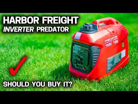 Testing the CHEAPEST HARBOR FREIGHT INVERTER GENERATOR Predator 1400