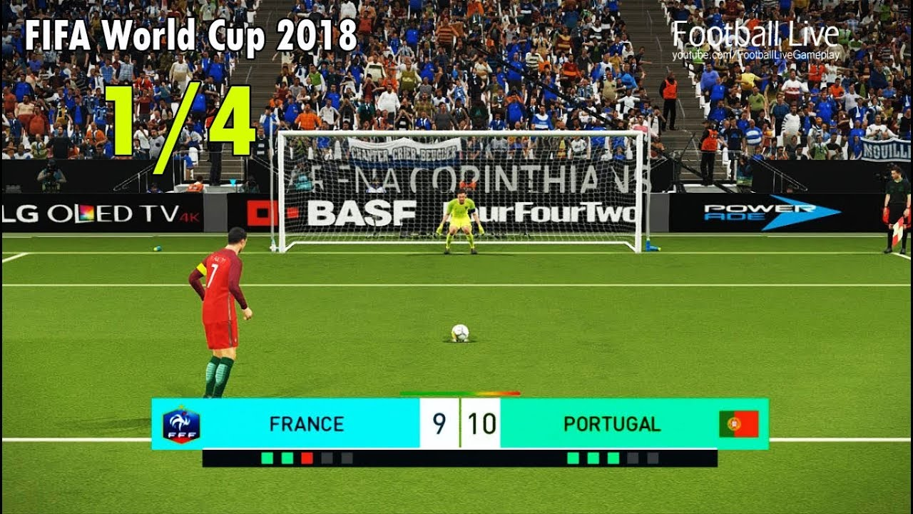 2018 fifa world cup game