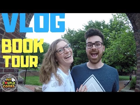 BOOK TOUR VLOG: Day 2 & 3 - Kissing Arches @ UD & The Quirkiest Bookstore on the Planet!