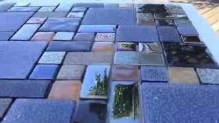 Silverado Series Glass Pool Tile