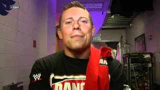 "The Miz Reacts About Going To Wrestlemania With Team Johnny - WWE RAW ""Backstage Fallout"" 3/26/12"