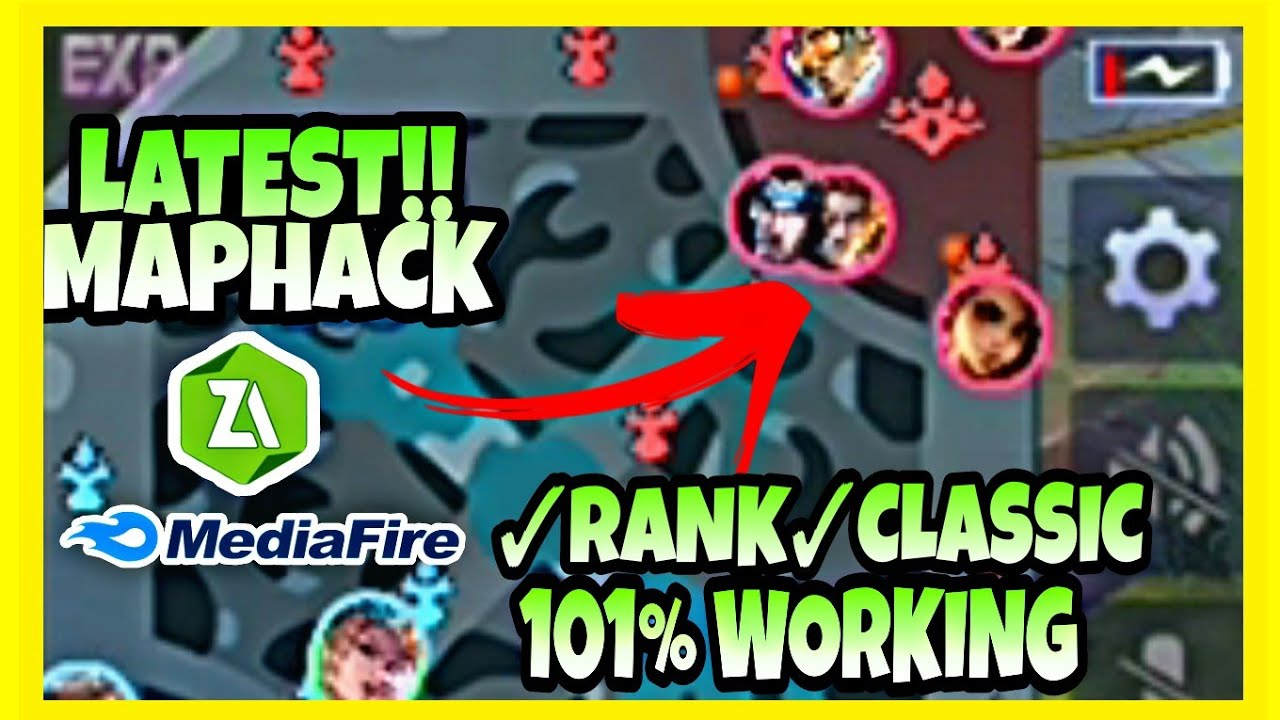 Latest MapHack in Mobile Legends 20 Working Classic/ Rank 20 ...