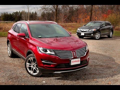 2015 Lincoln MKC Vs 2015 Acura RDX