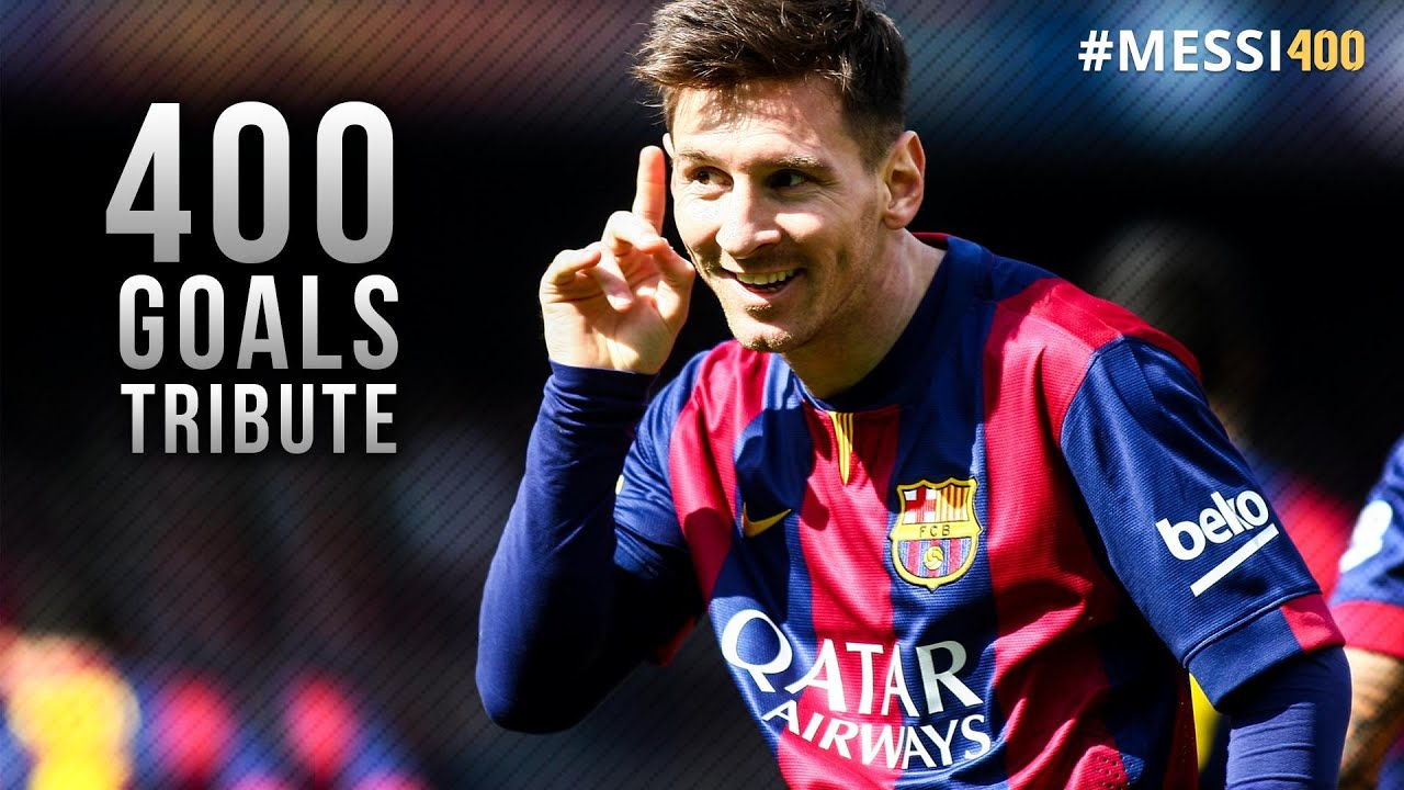 Lionel Messi 400 Goals For Barcelona - Tribute Video