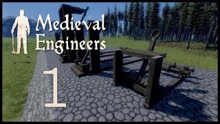 Medieval Engineers Ep1, Torsion Catapults.