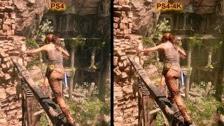 Rise of the Tomb Raider | PS4 vs. PS4 Pro vs. PC vs. X360 | Graphics Comparison | 4K Video