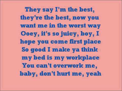 The Way You Love Me (w/Lyrics) - Keri Hilson feat. Rick Ross