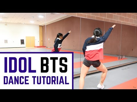 BTS (방탄소년단) 'IDOL' Lisa Rhee Dance Tutorial