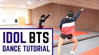 BTS (방탄소년단) 'IDOL' Lisa Rhee Dance Tutorial