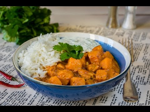 Chicken and Butternut Squash Satay Curry