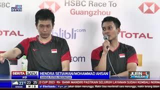 Dua Ganda Putra Indonesia Lolos ke Final Indonesia Open 2019
