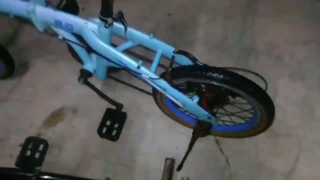 Upgrade Sepeda Lipat Exotic Jadul Ukuran 16 Dan 20 Punya Anak Youtube