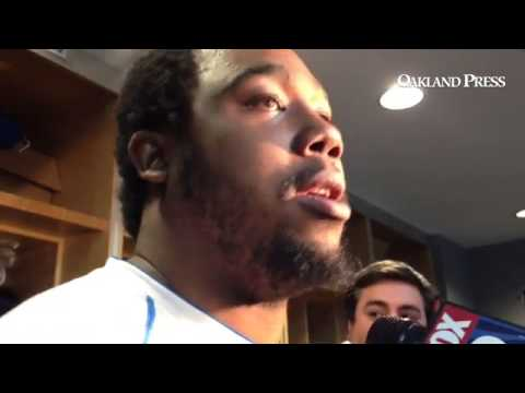 #Lions Nick Fairley said he felt fine after practice on Thursday.