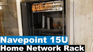 Home Network Rack Installation   NavePoint 15U Rack